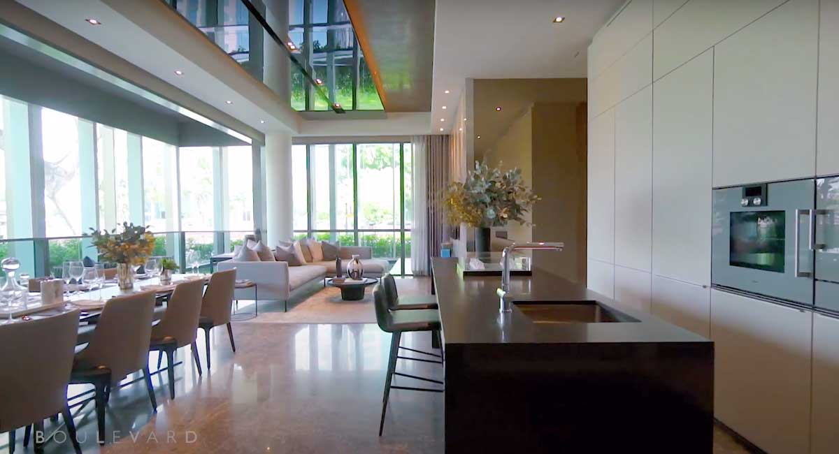 riviere-living-room-dry-kitchen-show-suite